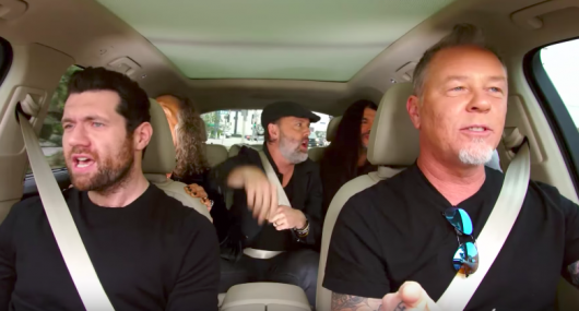 Carpool Karaoke Metallica