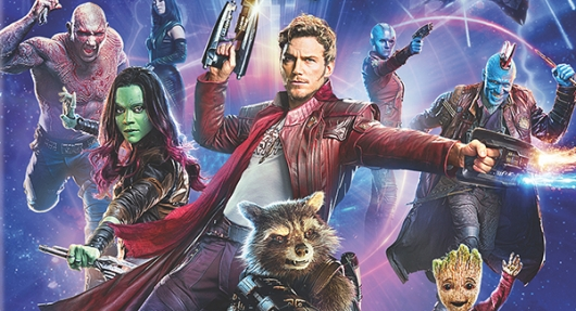 Guardians Of The Galaxy Vol. 2 Blu-ray banner