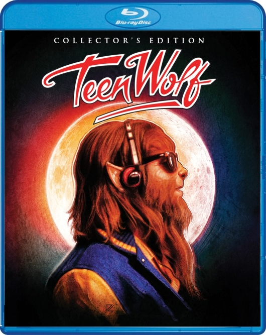 Teen Wolf (Collector's Edition) Cover Art