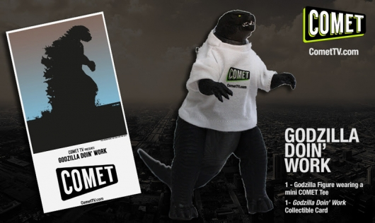 Comet TV September 2017 Godzilla Prize Pack