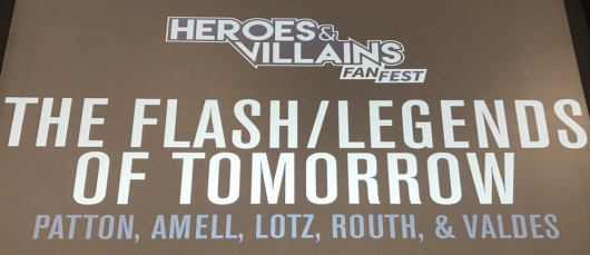 HVFF The Flash Legends of Tomorrow Panel