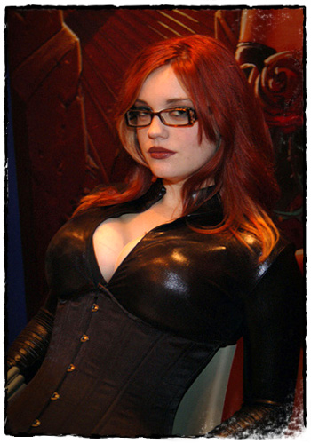 Geek Girl of the Month-Nov 2006-Ruby Rocket as Black Widow
