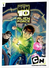 Ben 10: Alien Force Vol. 1 DVD