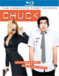 Chuck-The Complete First Season Blu-ray DVD