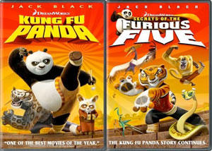 Kung Fu Panda & The Furious Five DVD 2-Pack