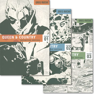 Queen & Country, The Definitive Edition Vol. 1-3