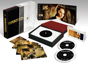 Wanted DVD Prize Pack