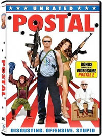 Postal Unrated DVD