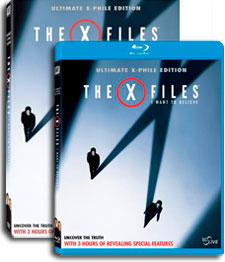 X-Files: I Want To Believe DVDs