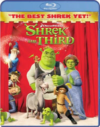 Shrek the Third Blu-ray DVD