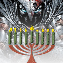 Moon Knight Menorah