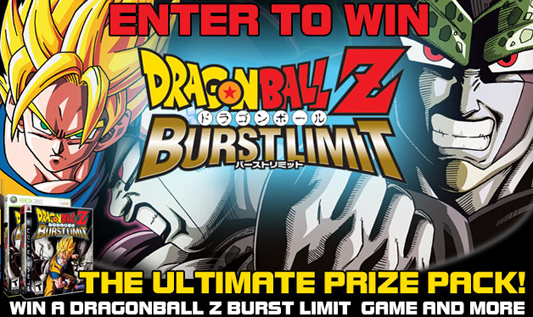 Enter to win the Dragonball Z: Burst Limit Prize Pack