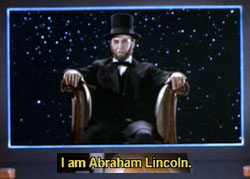 Abe Lincoln on Star Trek