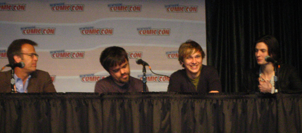 Nycc The Chronicles Of Narnia Prince Caspian Panel