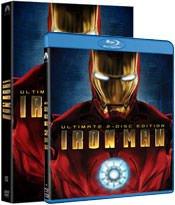 'Iron Man Ultimate Edition DVD & Blu-Ray