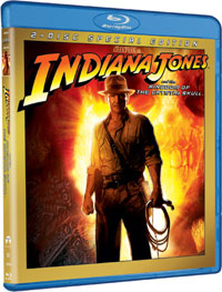 Indiana Jones and the Kingdom of the Crystal Skull Blu-ray DVD