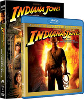 Indiana Jones and the Kingdom of the Crystal Skull DVDs