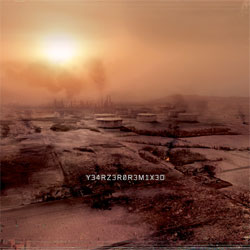 The bleak landscape of Year Zero's America (and cover to the Remix album)