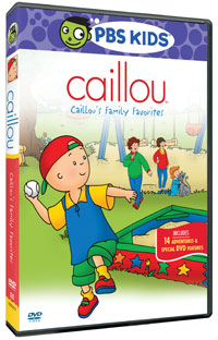 Caillou's Family Favorites  DVD
