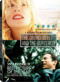 The Diving Bell and the Butterfly DVD