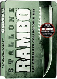 Rambo: The Complete Collector's Set DVD