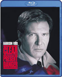 Clear and Present Danger Blu-ray DVD