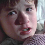 Haley Joel Osment as Cole Sear in The Sixth Sense