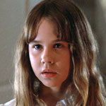 Linda Blair as Regan in The Exorcist
