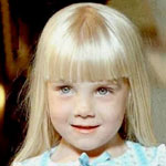 Heather O'Rourke as Carol Anne Freeling in Poltergeist