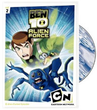 Ben 10 Alien Force: Season One, Vol. 2