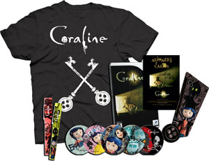 Coraline Prize Pack-Win this awesome stuff!