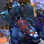 Geeks of Doom WoW Guild: For The Horde! Tarsonus on his new War Bear