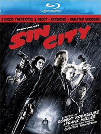 Sin City Blu-ray DVD