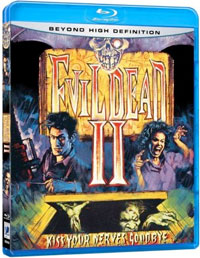 Evil Dead II: Dead by Dawn Blu-ray DVD