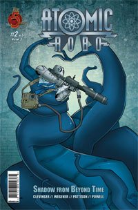 Atomic Robo: Shadow from Beyond Time 2