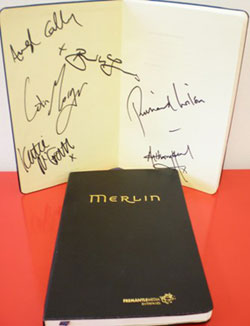 Signed Merlin Notebook