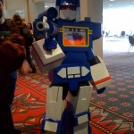 Wizard World Philly 2009 - Soundwave, Transformer