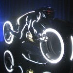 Tron Legacy Viral Campaign: A Real Live Next Generation LightCycle on Display at Flynn's Arcade 01
