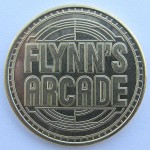 Tron Legacy Viral Campaign: Flynn's Arcade Token (Front)