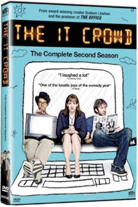 The IT Crowd, The Complete Second Season DVD