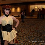 Cosplay Women of Dragon Con: Sally Jupiter / Silk Spectre 02