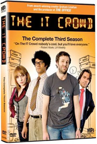 The IT Crowd, The Complete Third Season DVD
