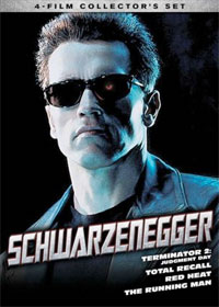 Schwarzenegger 4 Movie Collectors DVD Set