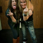 Scout Taylor-Compton and Lita Ford