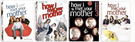 How I Met Your Mother S1-4 DVD