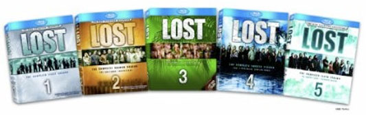 Lost Blu-ray Seasons 1-5