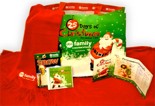Abc Family 25 Days Of Christmas.Abc Family S 25 Days Of Christmas Prize Pack