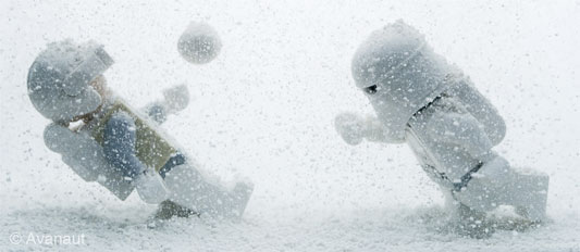 Lego on Hoth: Bullet Time on Hoth