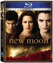 Twilight New Moon blu-ray