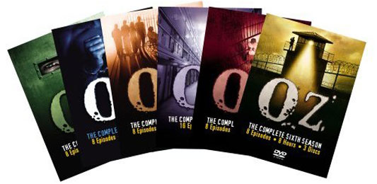 HBO's Oz Season DVDs